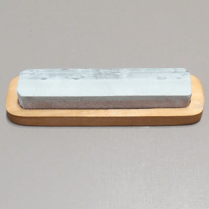 Pedra de Afiar Dupla Face com Suporte - 6,5cm x 22,5cm