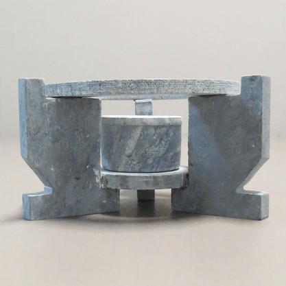 Rechaud para Fondue em Pedra Sabão 22cm