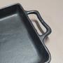 Assadeira Retangular em Ferro 40x25x4,5