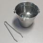 Balde em Aço Inox com Pegador - Capacidade 1,4 Litros