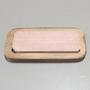 Pedra de Afiar com Suporte em Madeira - 5,5cm x 15cm