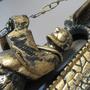 Sino de Bronze com Suporte de Parede Modelo Frade 51cm