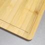 Tábua de Corte Retangular em Bambu 36cm x 26cmx1,4cm